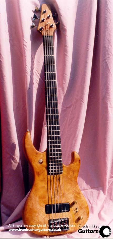 27 figured sycamore bass guitar maker and repairer in the scottish borders frank usher guitars. Black Bedroom Furniture Sets. Home Design Ideas